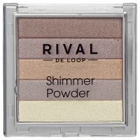 Rival de Loop Shimmer Powder Пудра 02 bronze 7 г