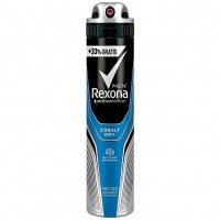 Rexona Men  Deospray Cobalt Dry Anti-Transpirant Rexona Men Дезодорант спрей кобальт Сухой антиперспирант 48 часов 150 г