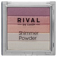 Rival de Loop Shimmer Powder Пудра 01 pink 7 г
