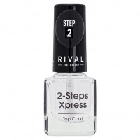 Rival de Loop 2 steps xpress Top Coat Лак для верхнего слоя 8 г