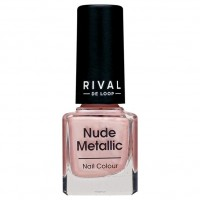 Rival de Loop nude metallic nail colour 01 8 г