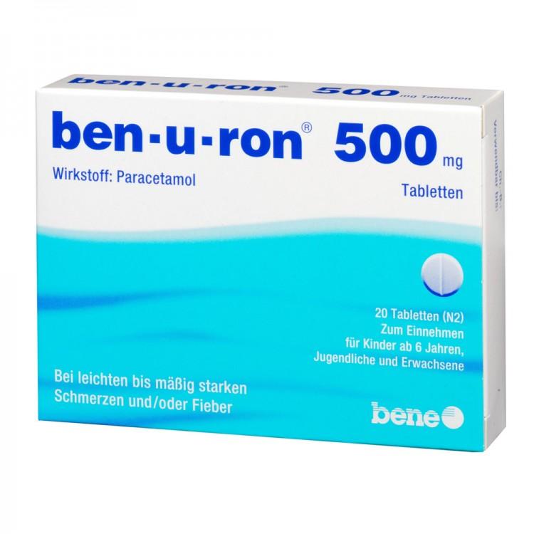 ben-u-ron инструкция на русском