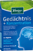 Kneipp Gedachtnis + Концентрат	ion Капсулы, 30 шт