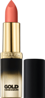Губная помада L'Oreal Paris Color Riche Gold Exclusiv Obsession Lipstick, оттенок 37 Pink Gold