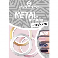 essence Metal Stripes Nail Stickers 1 Набор