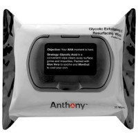 Anthony For Men Щёточка для очистки лица Face Glycolic Exfoliating and Resurfacing Wipes