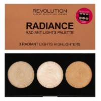 Makeup Revolution Highlighter Хайлайтер Палетка Radiance 1 шт.