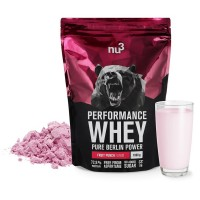 nu3 (ну3) Performance Whey Fruit Punch 1000 г