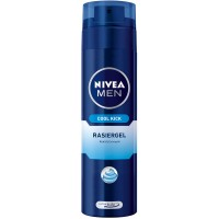 NIVEA (НИВЕЯ) MEN Cool Kick Rasiergel 200 мл