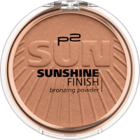 p2 cosmetics Bronzer Бронзатор sunshine finish bronzing powder Acapulco sun 020, 8 g