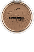 p2 cosmetics Bronzer Бронзатор sunshine finish bronzing powder Savannah Fever 040, 8 g