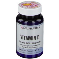 GALL PHARMA Vitamin E 15 mg GPH Капсулы, 60 шт