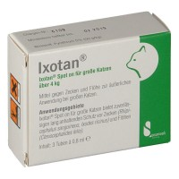 Ixotan (Иксотан) Spot on fur grosse Katzen uber 4 kg 3X0,8 мл