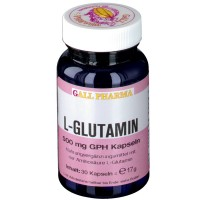 GALL PHARMA L-Glutamin 500 mg GPH Капсулы, 30 шт