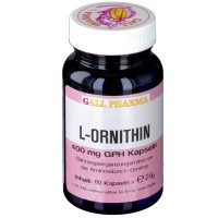 GALL PHARMA L-Ornithin 400 mg GPH Капсулы, 60 шт