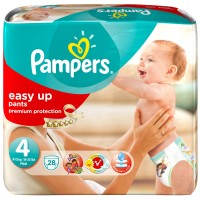 Pampers (Памперс) Easy up Gr. 4 Maxi 8-15kg Sparpack 28 шт
