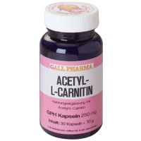 GALL PHARMA Acetyl-L-Carnitin 250 mg Капсулы, 30 шт