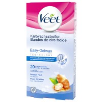 Veet (Вит) Hair Minimizer Enthaarungsstreifen Sensitive 10X2 шт