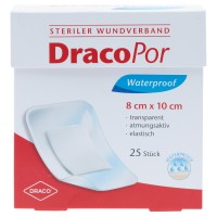 DracoPor (Дракопор) Waterproof Wundverband steril 8x10cm 25 шт