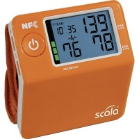 Wrist Blood pressure monitor Измеритель давления Scala SC7400 orange 02488