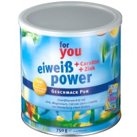 for (фор) you Power Eiweiss Pur 750 г
