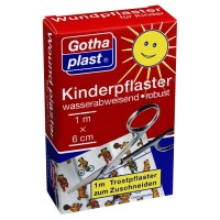 Gothaplast (Готапласт) Kinderpflaster 1 m x 6 cm 1 шт