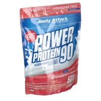 Body (Боди) Attack Power Protein 90 Strawberry Cream 500 г