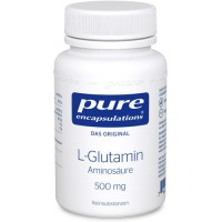 pure (пьюр) encapsulations L-Glutamin 500 mg 90 шт