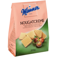 Manner Nougatcreme Waffeln Вафли со сливочной начинкой  200г