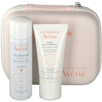 Avene (Авин) Creme fur uberempfindliche Haut + 50 ml Eau Thermale in der Allergie-Box 1 шт
