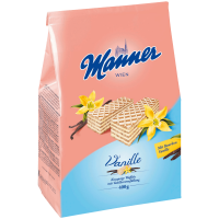 Manner Vanille-Schnitten Вафли с ванильной начинкой 400г