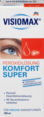 Kaufen Sie Authentic akzeptabler Preis Laufschuhe VISIOMAX Super дезинфицирующая перекись, 45 шт. нейтрализующих таблеток,  360 мл