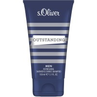 s.Oliver Outstanding Men Shower & Shave Shampoo, 150 мл