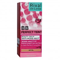 Rival de Loop Perfect Teint BB Beauty Balm Бьюти-бальзам Anti-Mude Haut mittel 50 г