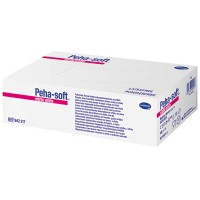 Peha-soft (Пеха-софт) nitrile white puderfrei unsteril Untersuchungshandschuhe Gr. L 8 - 9 200 шт