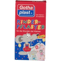 Gothaplast (Готапласт) Kinderpflaster Maus 4 cm x 2 cm 20 шт