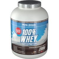 Body (Боди) Attack 100 % Whey Protein Chocolate Brownie Pulver 2300 г