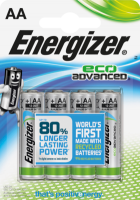Energizer Батарейки Eco Advanced Mignon AA Alkali-Mangan, 4 шт