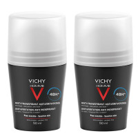 VICHY (ВИШИ) Homme Deo Roll On fur sensible Haut -Doppelpack- 2X50 мл