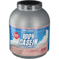 Body (Боди) Attack Casein Protein Strawberry Banana 1800 г