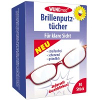 WUNDmed (Вундмед) Brillenputztucher 30 шт