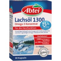 Abtei (Абтай) Lachsol 1300 OMEGA-3-Konzentrat 30 шт