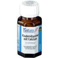 naturafit (натурафит) Kindervitamine mit Calcium 40 шт