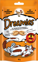 Dreamies Лакомство для кошек с Курицей, 60 г