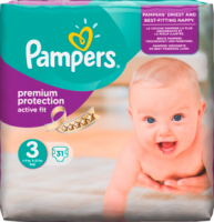 Pampers Active Fit Подгузники Размер 3 Midi 4-9 kg, 31 шт