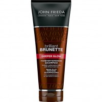 JOHN FRIEDA Brilliant Brunette Deeper Glow Farbvertiefendes Шампунь 250 мл