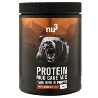 nu3 (ну3) Protein Mug Cake Mix Triple Chocolate 400 г