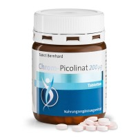 Kraueterhaus Sanct Bernhardt Chromium picolinate 200µg tablets, 250 таблеток