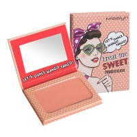 Misslyn (Мисслин)  Blusher Treat me Sweet! Powder Blush Румяна, Nr. 08 Be my Flamingo Forever / 6 g
