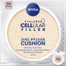NIVEA Cushion Hyaluron CELLular Filler 3in1 Pflege, Dunkel, 15 g Нивея Тонирующий Флюид, оттенок 03 Dunkel
